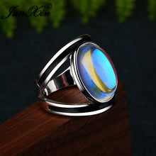Load image into Gallery viewer, Oval Moonstone Ring