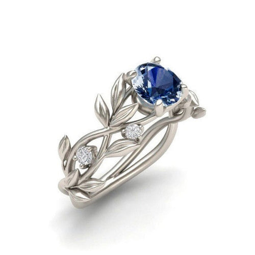 Leaf Flower Vintage Ring