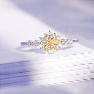 The Snowflake Ring