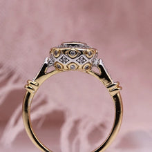 Load image into Gallery viewer, Amelie Halo Engagement Ring