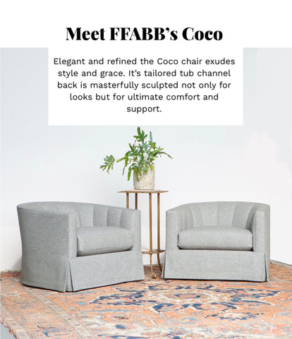 Coco Chair and swivel chair collection ffabb home