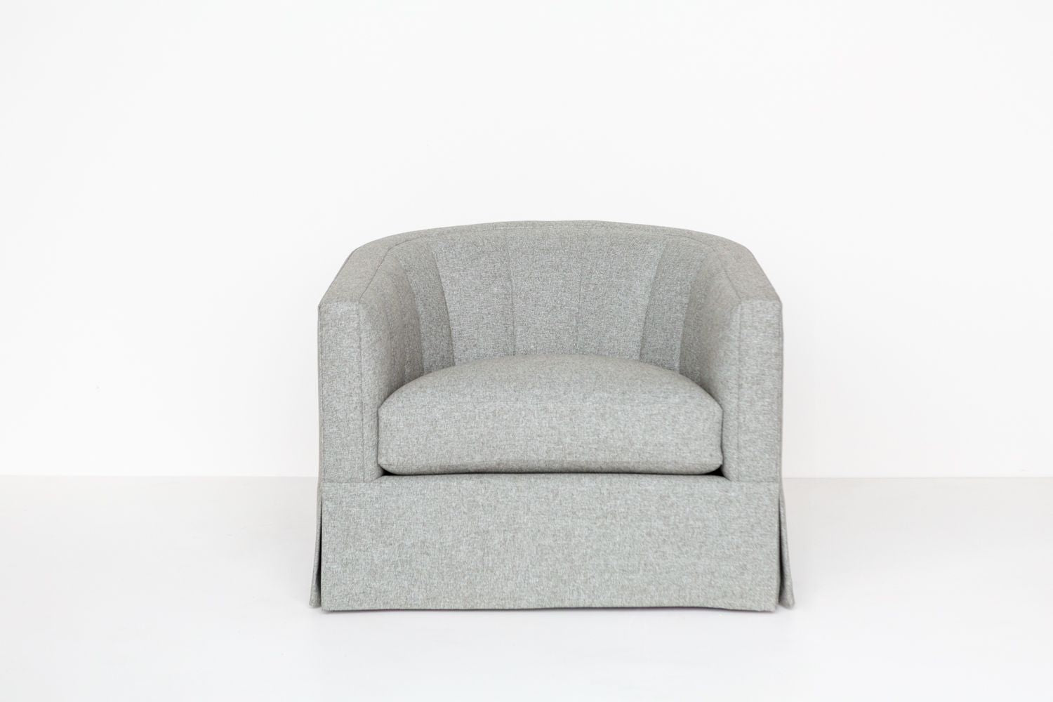 Product shot of the ffabb home Coco Swivel chair