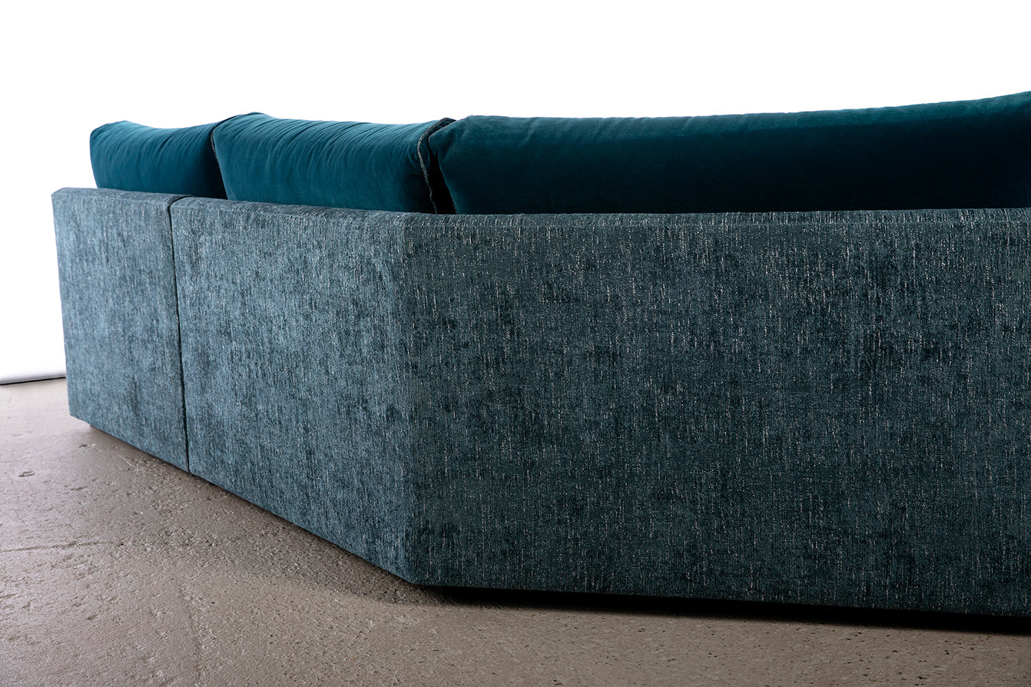 ffabb coasty slim modular sectional angle back sofa