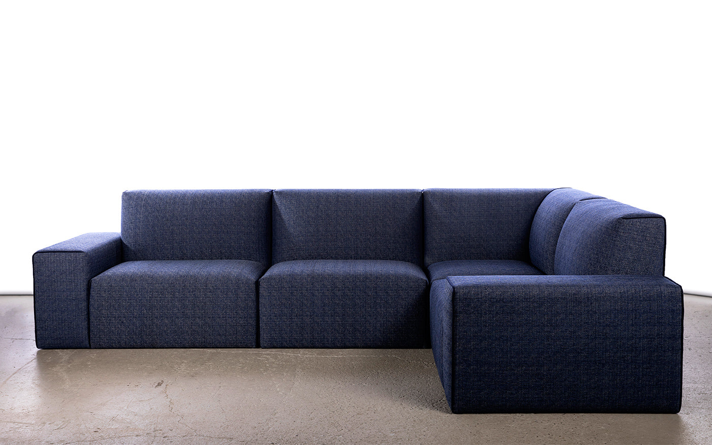 FFABB JUMBALOW LOW Modular sectional, 4 pcs sectional