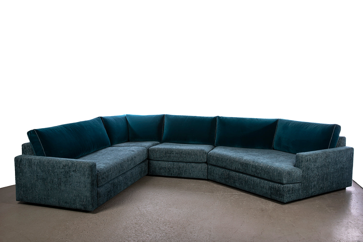 Coasty Slim - Cove Sectional : medium LHF