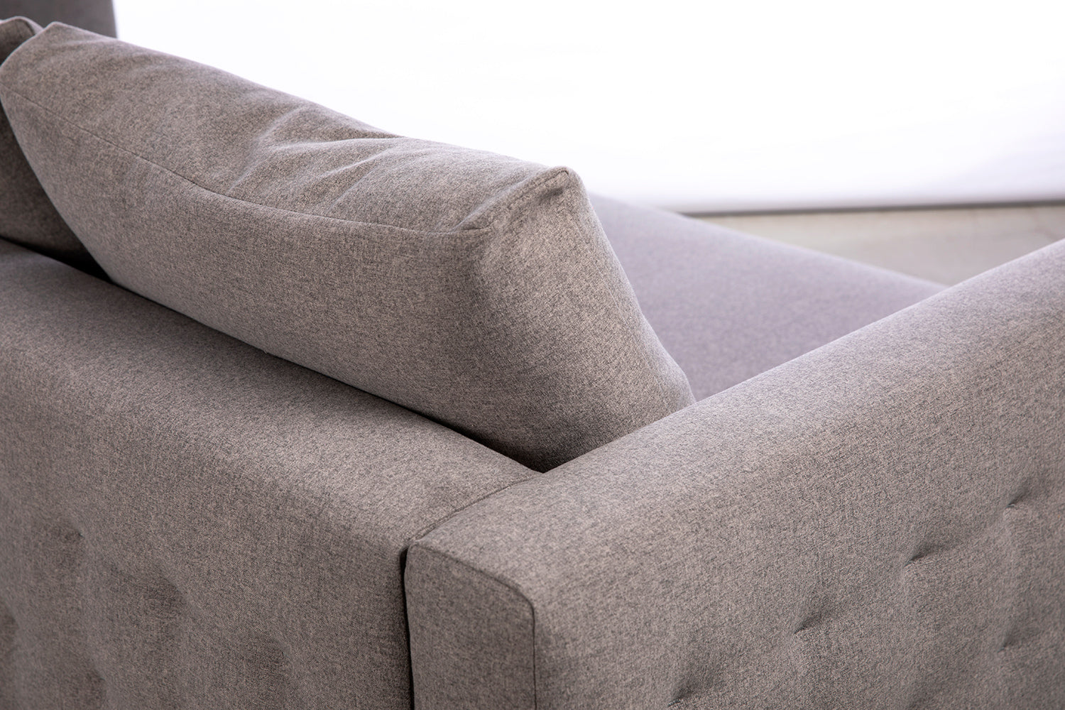 ffabb Saturday Somewhere Sofa in Wool like - Alloy fabric