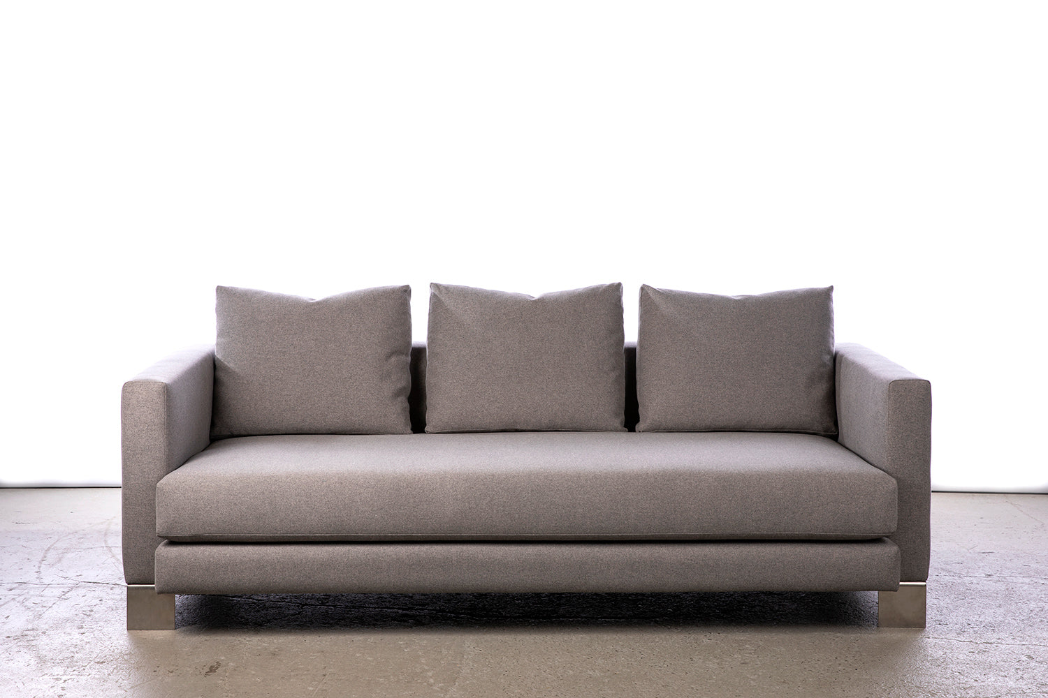 ffabb Saturday Somewhere Sofa in Wool like - Alloy fabric made in Vancouver