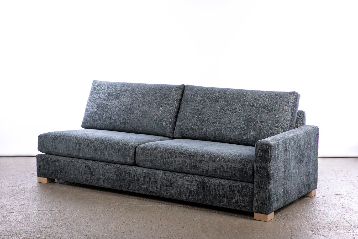 ffabb coasty slim - sofa in RHF riptide chenille