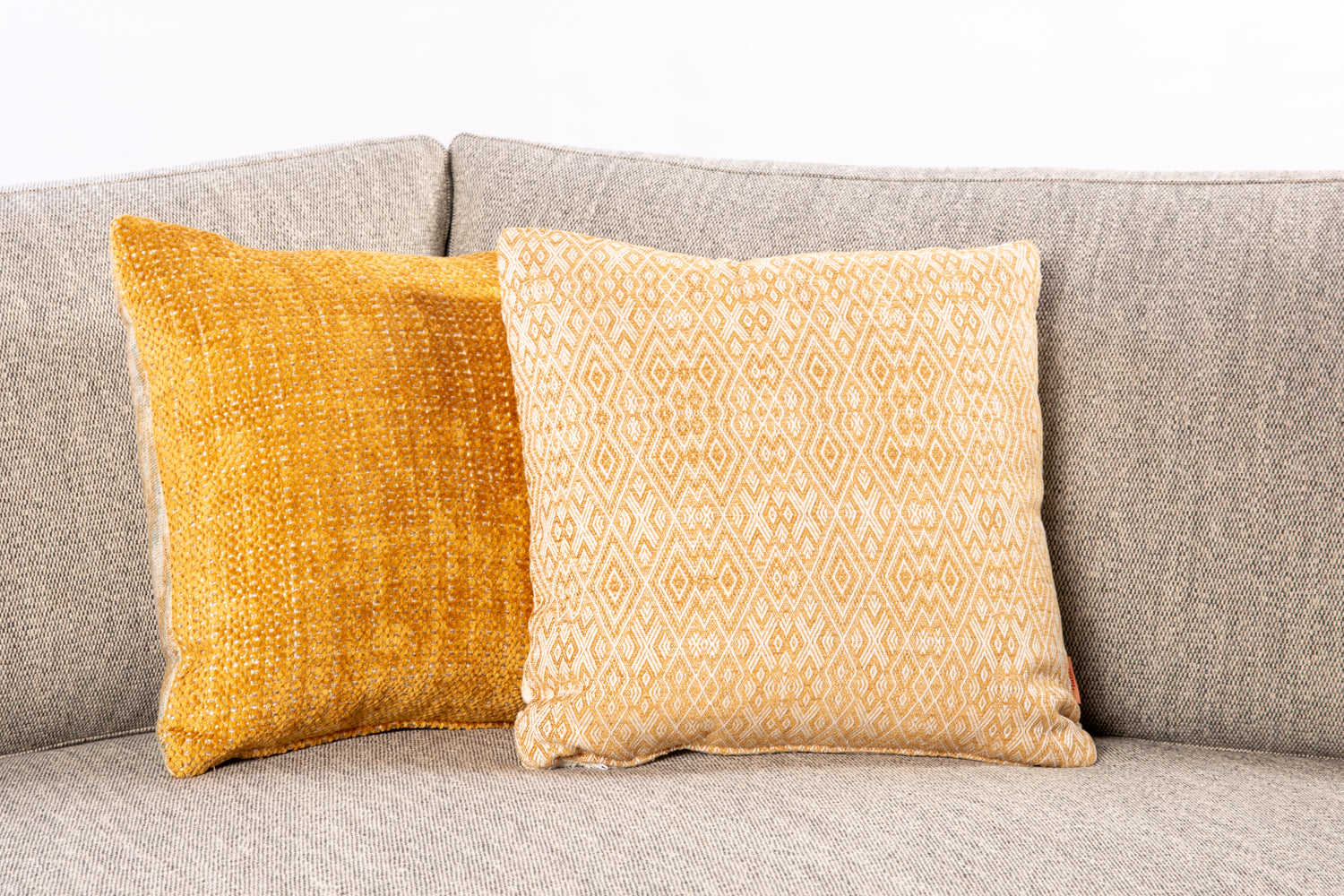 ffabb toss pillows RADG fabrics, woven diamond, chenille