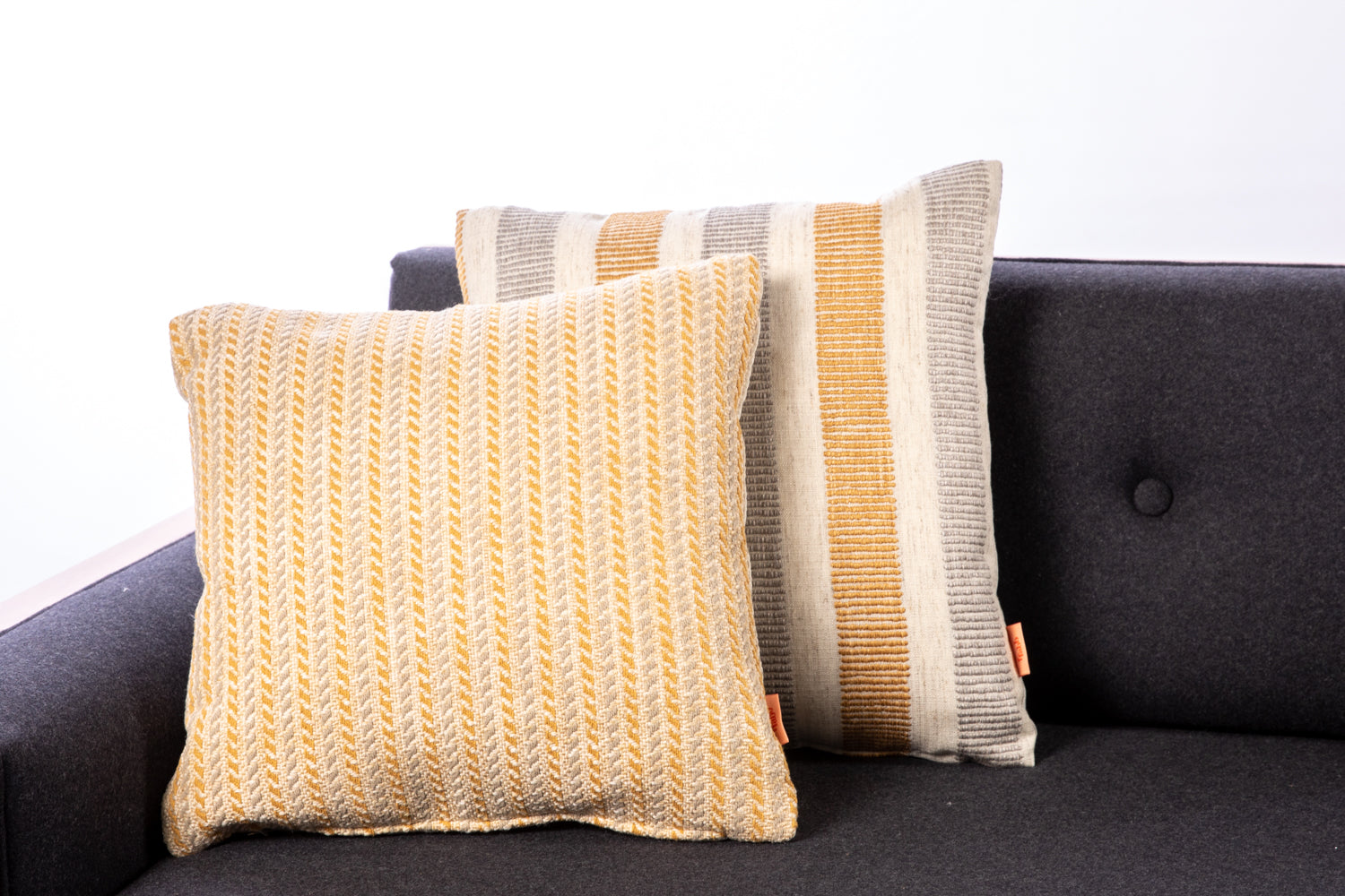 ffabb toss pillows, RADG & Maxwell small scale pattern, woven