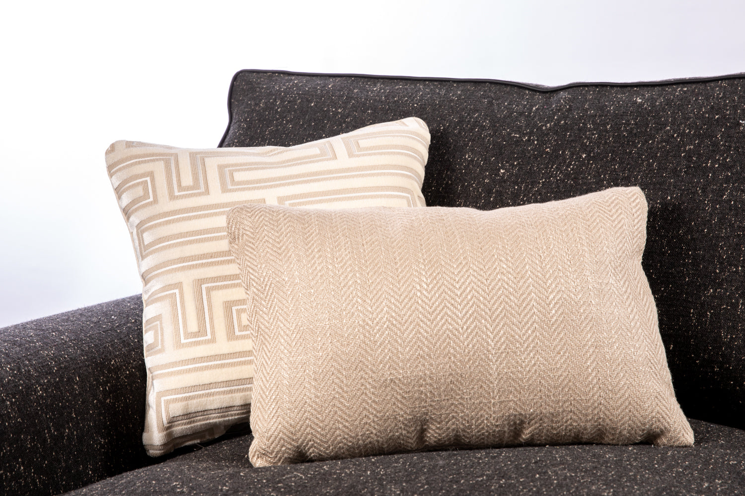 ffabb toss pillows RADG fabrics cut velvet
