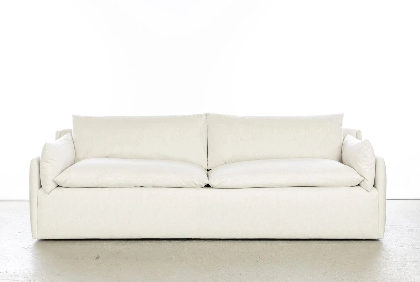 ffabb Saramony sofa in Linen look - Sand Dollar fabric