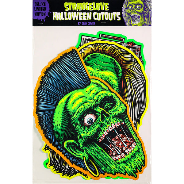 Sean Cliver / Halloween Cutout Prints