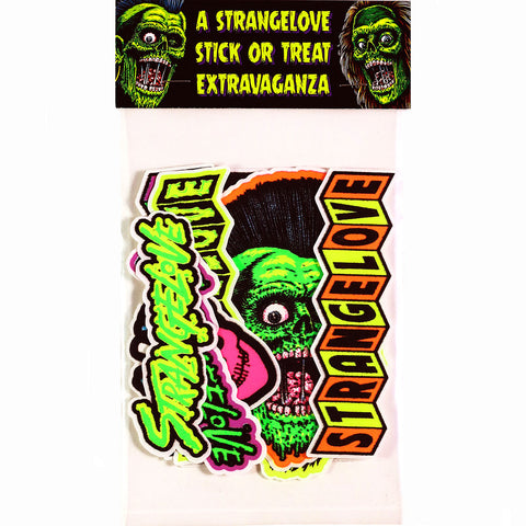 Stick or Treat Extravaganza / Stickers