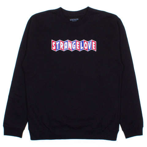CineLogo (Embroidered) / Black / Crew Sweatshirt