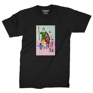 Misfit Isle / Black / T-Shirt