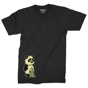 Panda (Glow in the Dark) / Black / T-Shirt