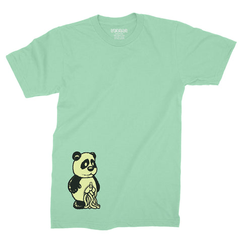 Panda (Glow in the Dark) / Mint / T-Shirt