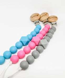 Solid Color Pacifier Holder