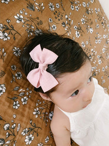 Ribbon Baby hair clip set of 2 (small)