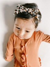 Load image into Gallery viewer, Small Leopard  Headband Bow