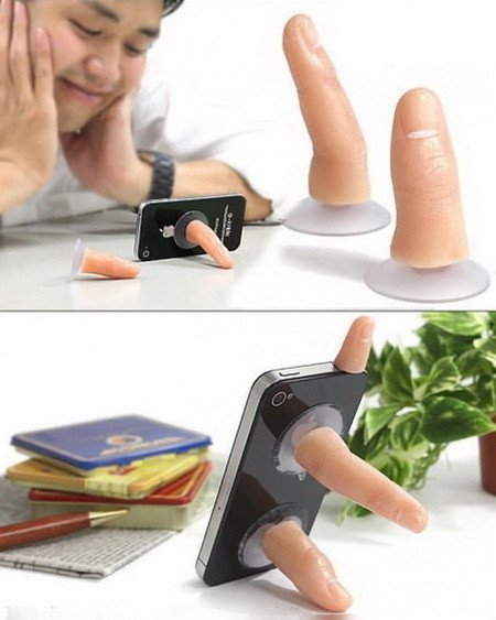 The Finger iPhone Stand