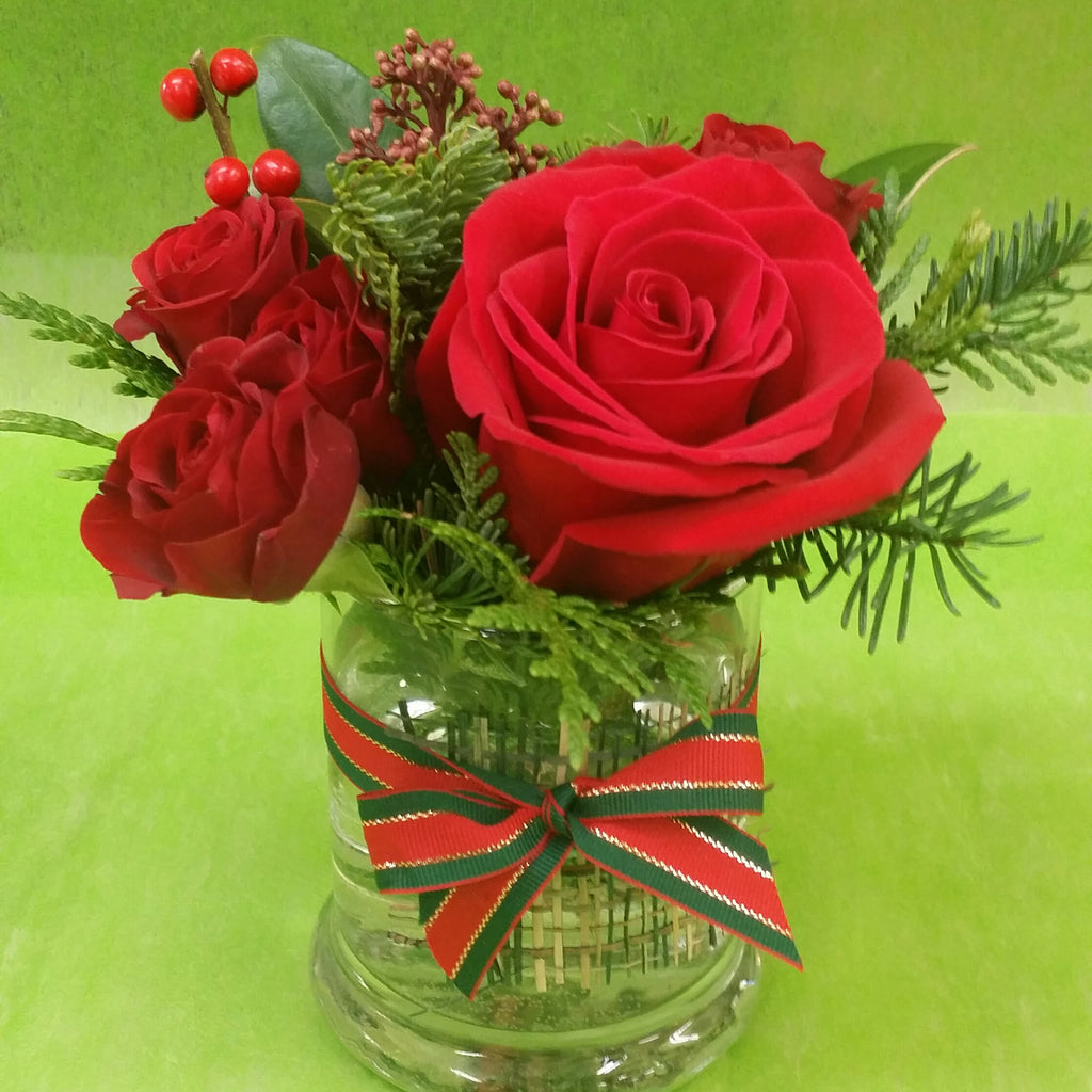 HX-18 Mini Christmas Centerpiece