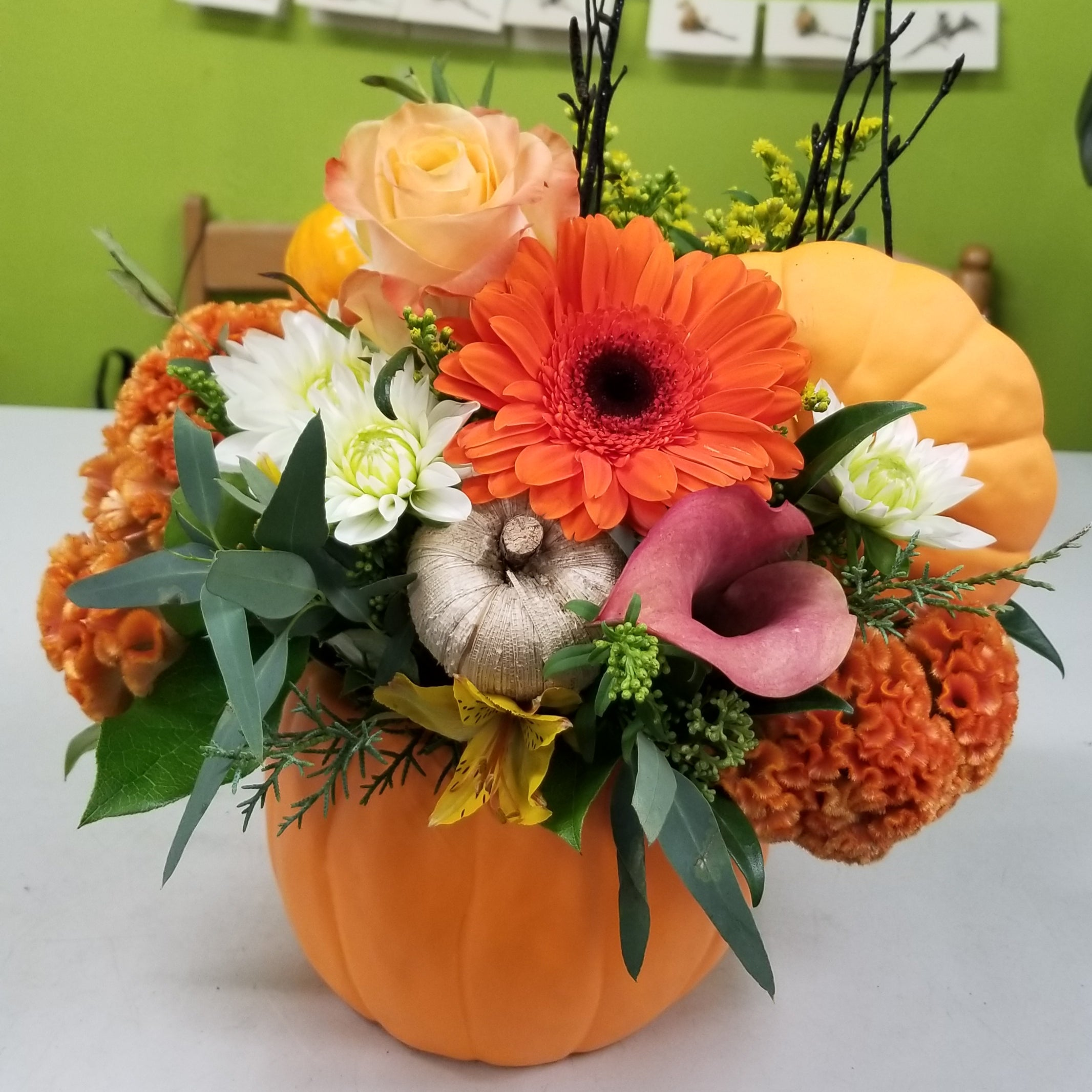 HC-028 Pumpkin Arrangement
