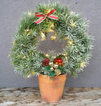 HX-23 Artificial Wreath Planter