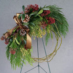 HX-28 Fresh Handmade Wreath
