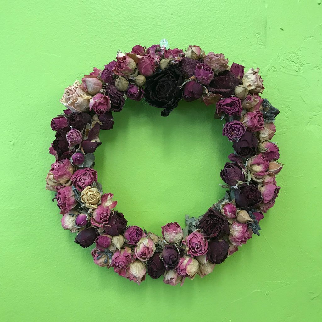 HD-42 Dried Flowers Wreath