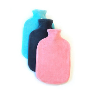 HB-05 Velour Fashy Hot Water Bottle