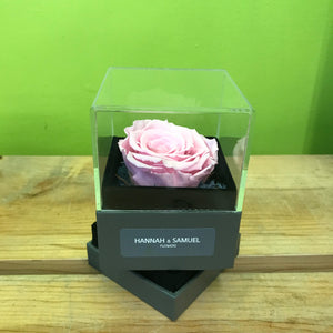 HD-34  Preserved Rose Jewelry Box