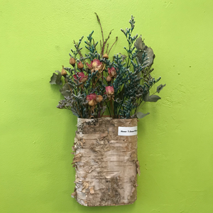HD-40 Wall Mounted Dried Flowers