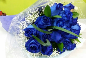 HC-040 Blue Rose Bouquet