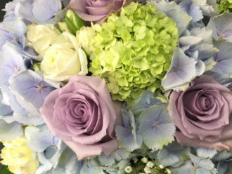 HC-059 Purple & Blue Bouquet