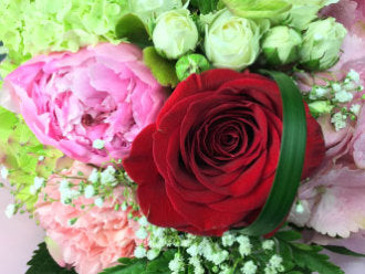 HC-058 Red & Pink Bouquet