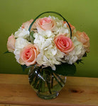 HC-009 Rose and Hydrangea arrangements