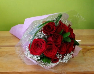 HC-043 Round Rose Bouquet