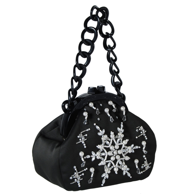 products/B_L42_19201_A_BLACK_WHITE_89_front_STELLAR_PEARLS_PARTY_BAG_embellish_snow_flake_3.jpg