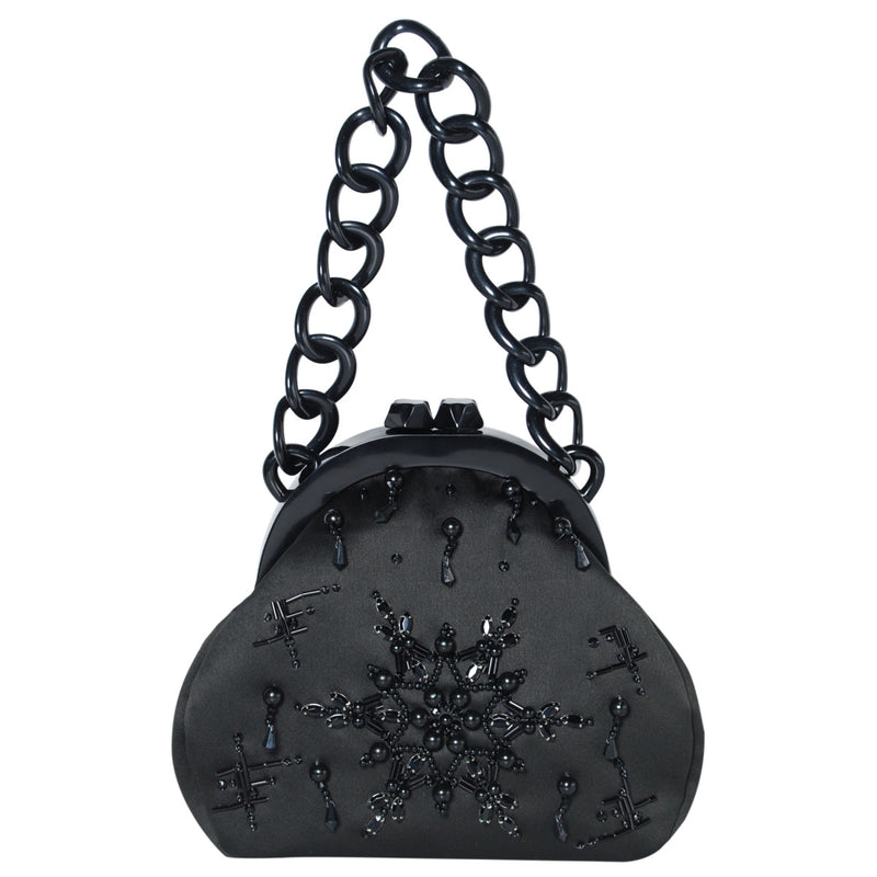 products/B_L42_19201_A_BLACK_WHITE_89_front_STELLAR_PEARLS_PARTY_BAG_embellish_snow_flake_5.jpg