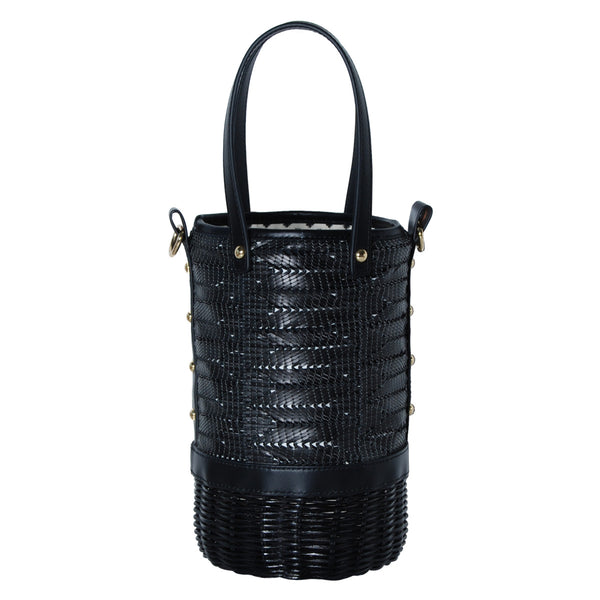 TORY SMALL RATTAN BASKET