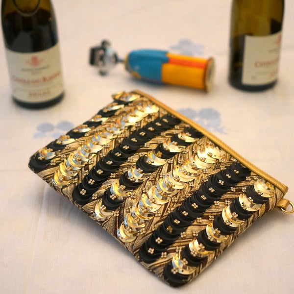 Embellished Evening Bag: Alcea