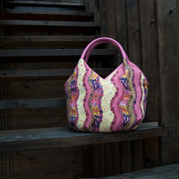 Summer Patchwork Tote Doris
