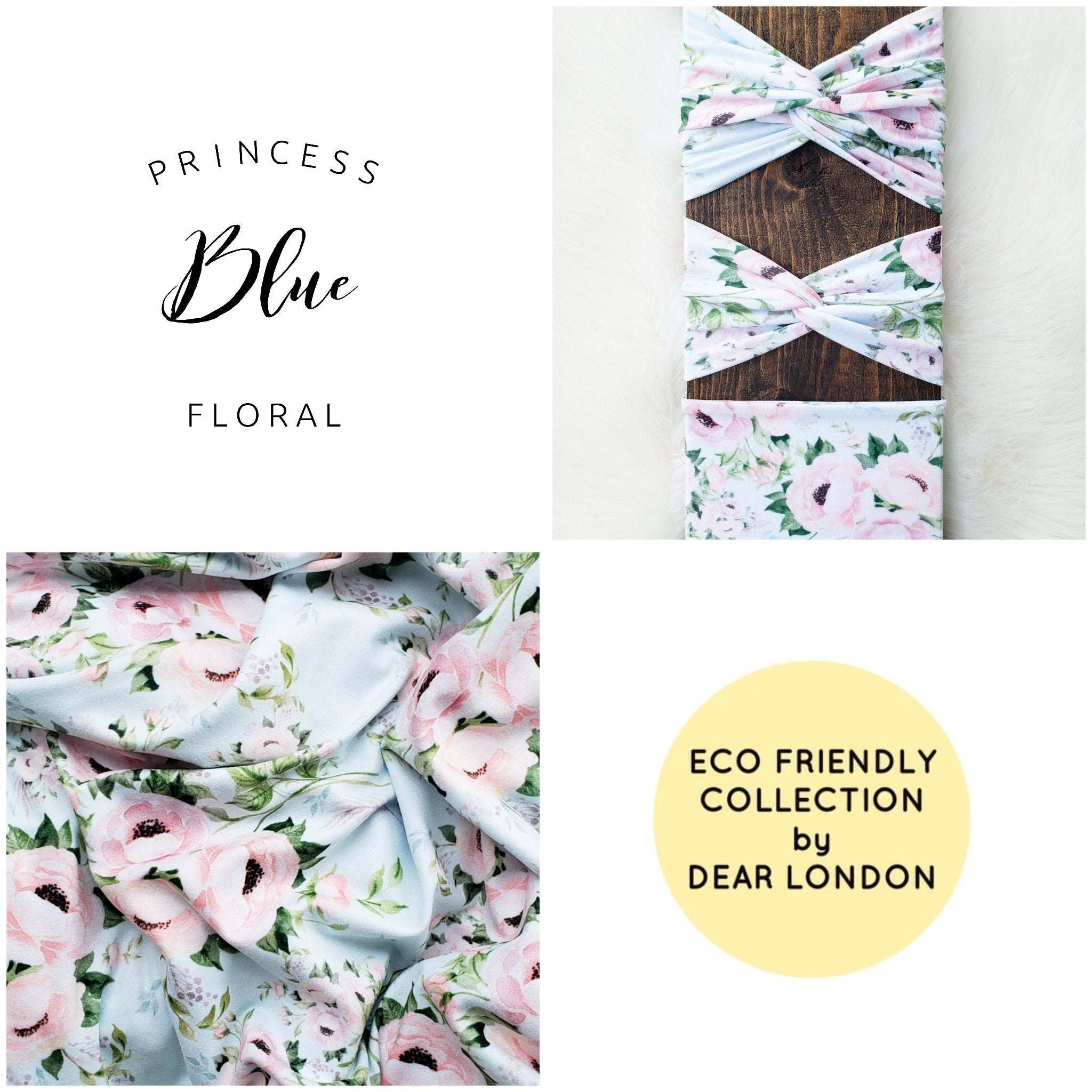 Princess Blue Floral