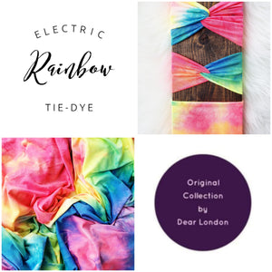 Electric Rainbow Tie-Dye
