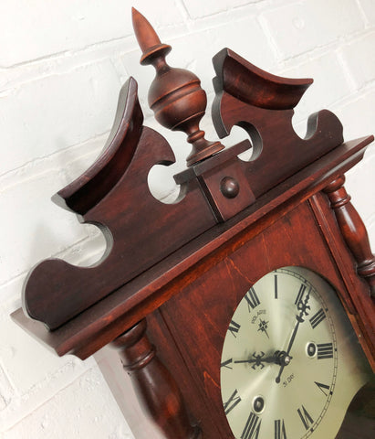 Vintage 31 Day POLARIS Hammer Chime Wall Clock | eXibit collection
