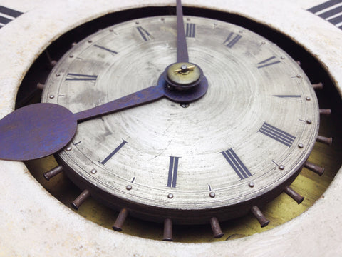 Antique Fusee Wall Clock   eXibit collection