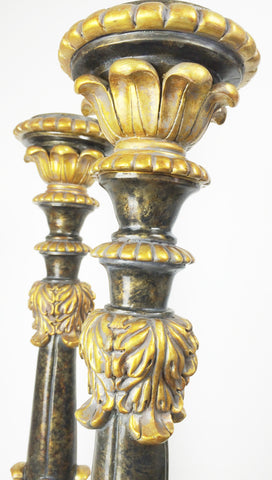 Ornate Torchere Pedestal Candle Stand | eXibit collection