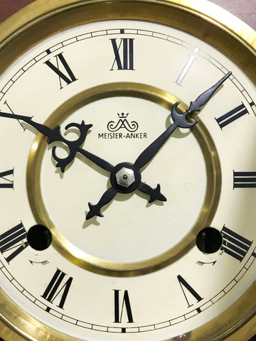 Vintage 31 Day Wall Clock   eXibit collection